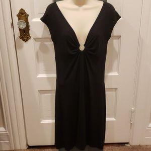 Express sexy black cotton dress!!